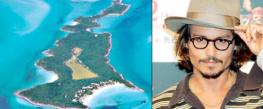 Back in 2005, Johnny Depp bought a 35-acre island in the Bahamas,